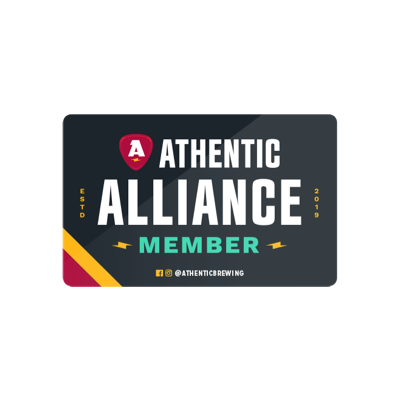 Athentic Allliance card front
