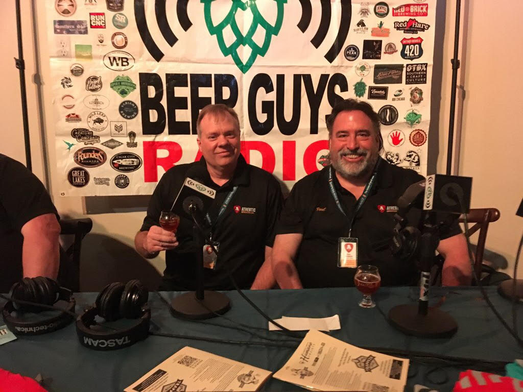 The founders at Brew Fest
