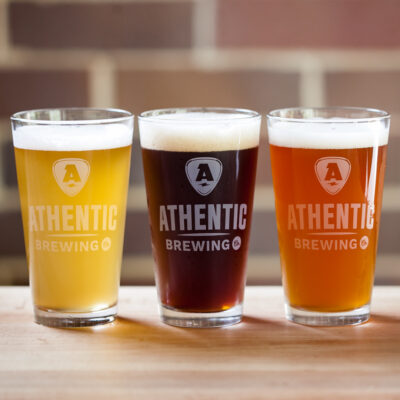 Curbside Beers at Athentic Brewing Co.