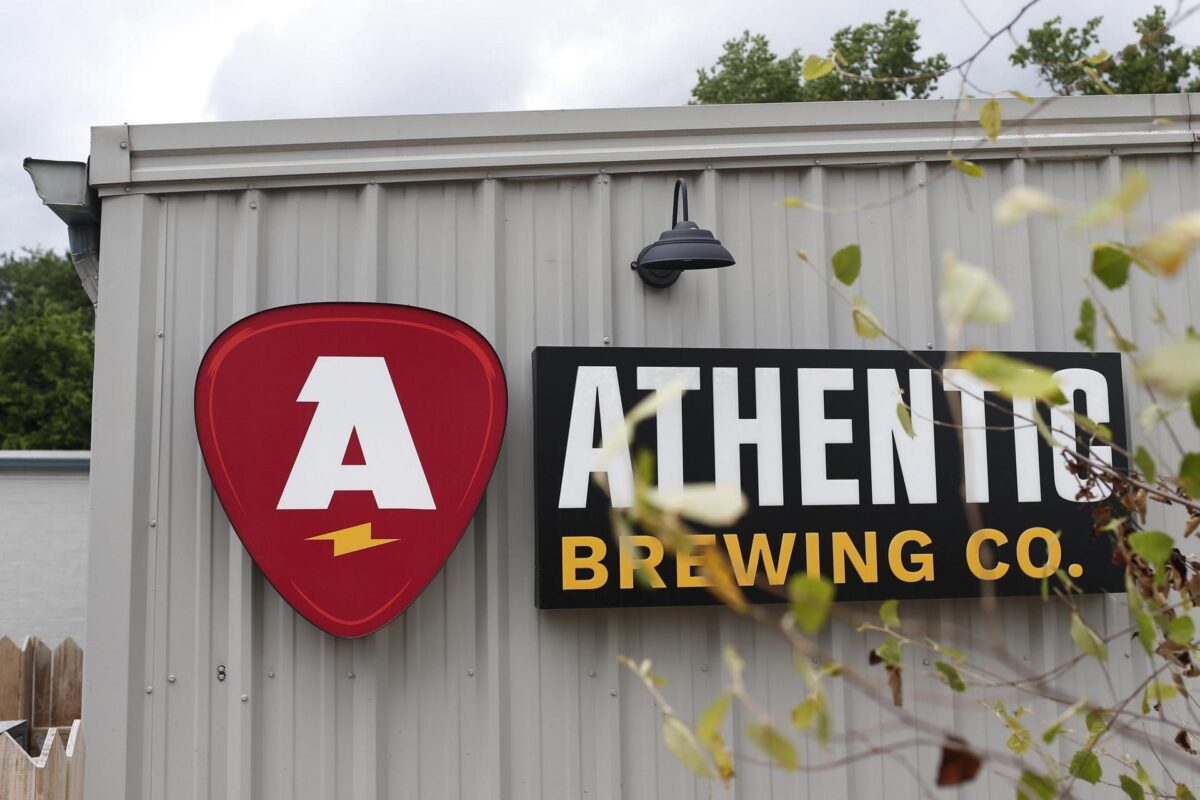 Athentic Brewing sign